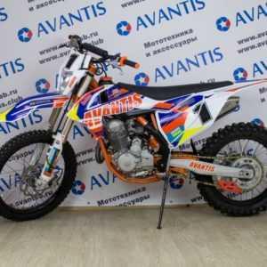 Мотоцикл кроссовый Avantis Enduro 250 21/18 (2017) (эл.стартер)