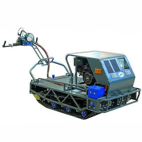 Мотобуксировщик Бумэр-X с двигателем ЯВТ-640