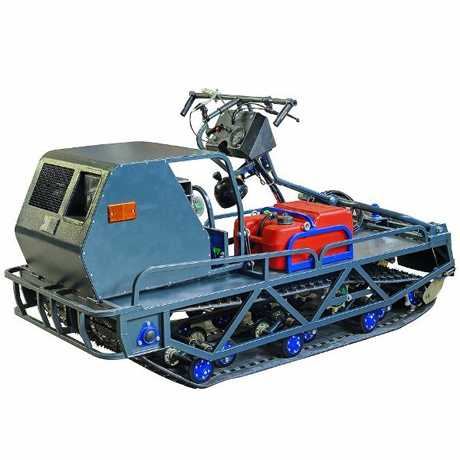 Мотобуксировщик Бумэр-XL с двигателем ЯВТ-640