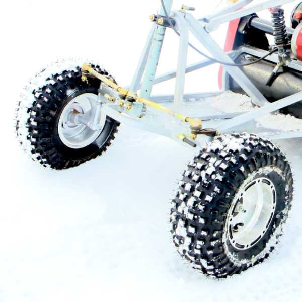 Комплект колес для лыжного модуля МУХТАР-7, МУХТАР-15