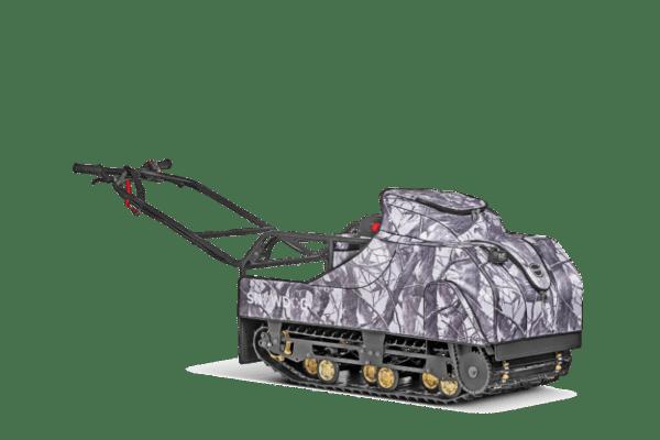 Мотобуксировщик BALTMOTORS SNOWDOG Standard S-R15ME-WR