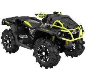 Квадроцикл BRP OUTLANDER 1000R X MR DIGITAL CAMO