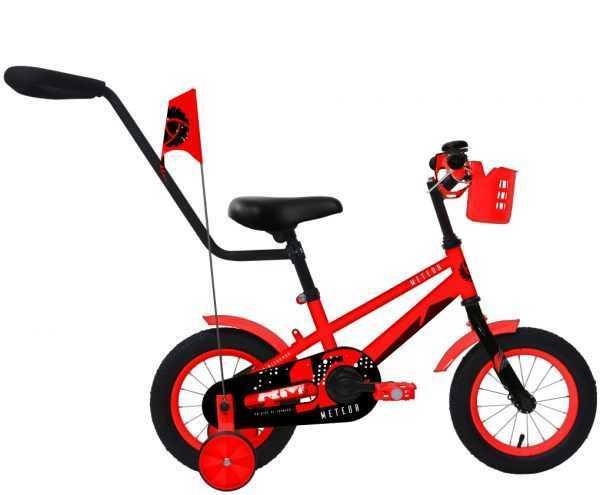 """Велосипед RM METEOR (12"""", 1 ск., красный) купить по цене 5300 руб."""