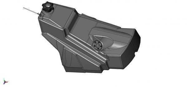 Бак топливный в сборе S10800150 купить по цене 39913 руб.