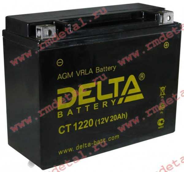 Аккумулятор Delta CT 1220 купить по цене 8375 руб.