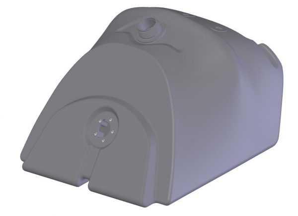 Бак топливный C40800450 купить по цене 4988 руб.