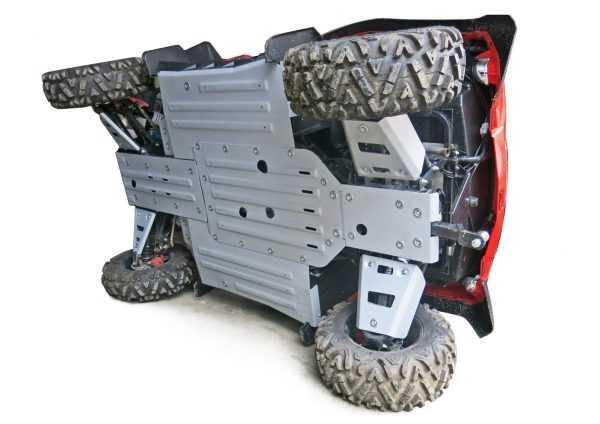 Комплект защит днища для квадроцикла UTV RM 800 (6 частей) купить по цене 22300 руб.