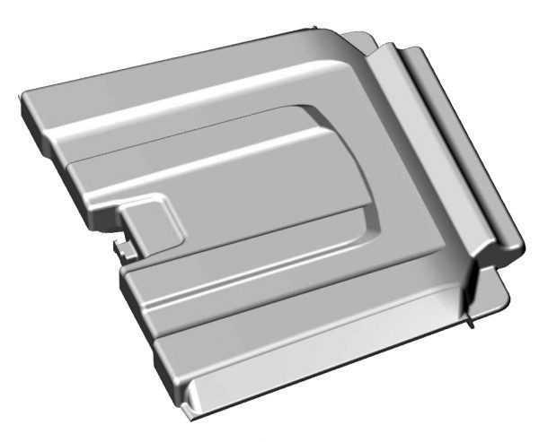 Крышка короба багажного отсека заднего R10700025 купить по цене 1012 руб.