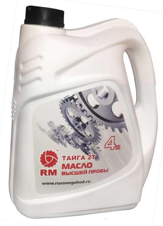 Масло моторное RM Тайга 2Т 4 л. купить по цене 1940 руб.