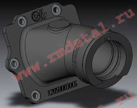 Патрубок K20500030-01 купить по цене 1042 руб.
