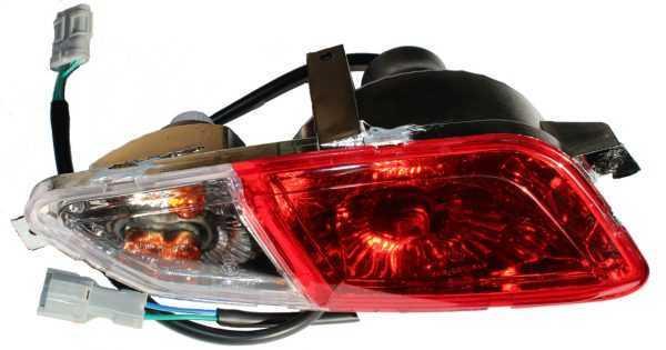 Блок задних фонарей левый в сборе 10709070010 купить по цене 3074 руб.