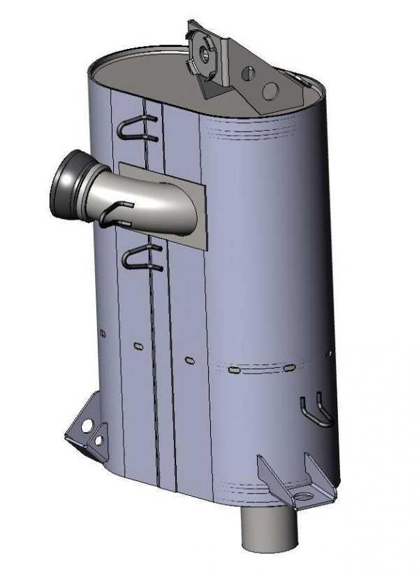 Глушитель в сборе S10400180 купить по цене 26511 руб.