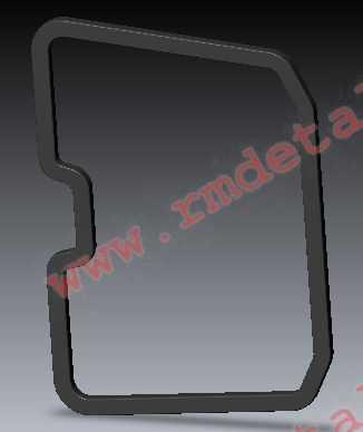 Уплотнение багажного отсека заднего R10700035 купить по цене 827 руб.