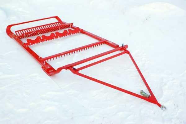 Борона для прокладки лыжни SNOWPRO купить по цене 75000 руб.