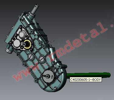 Коробка передач L30601100-01 купить по цене 65545 руб.