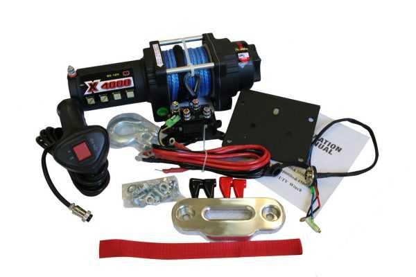 Лебедка электрическая(4000lbs) 13214170001 купить по цене 22550 руб.