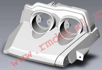 Кронштейн фонарей задних правый R10700021 купить по цене 578 руб.