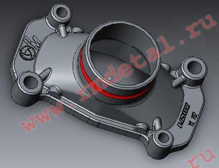 Крышка впускного коллектора C40500002 купить по цене 378 руб.