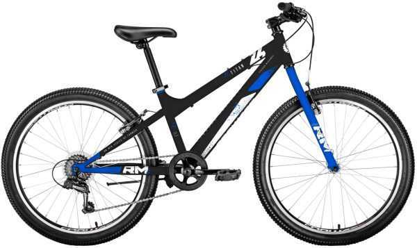 """Велосипед RM TITAN (24"""", 6 ск., рост 13"""", черный/синий) купить по цене 11000 руб."""
