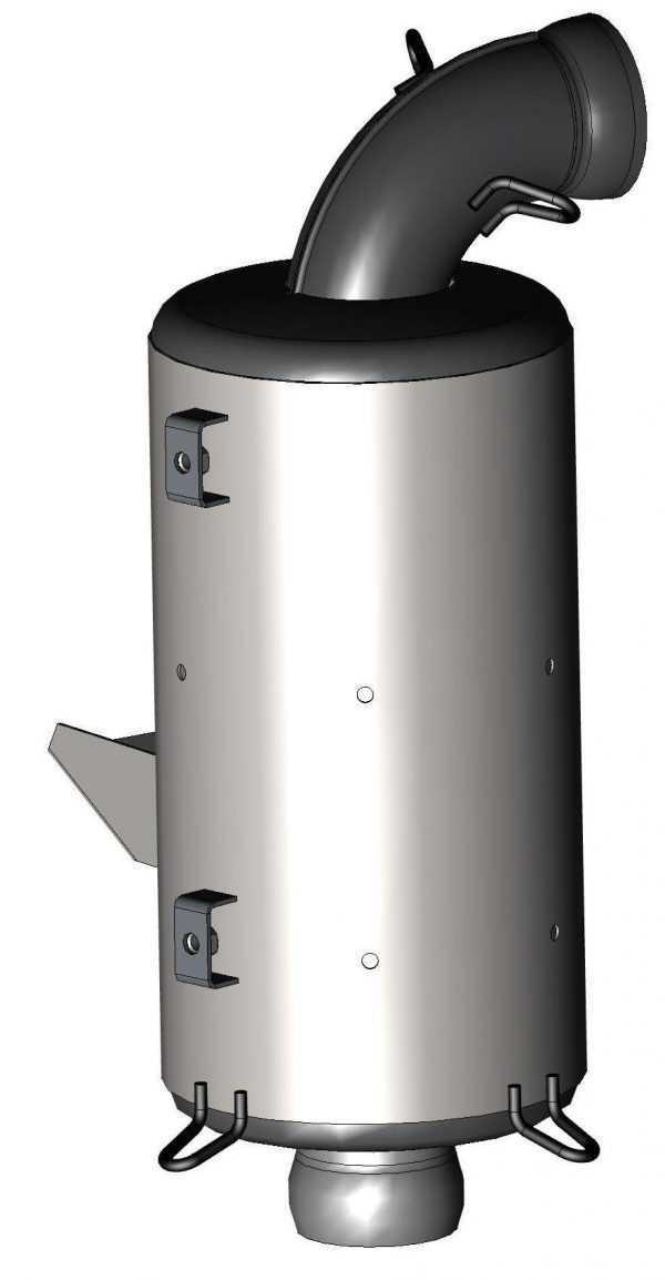 Глушитель выпуска 110402650 купить по цене 8988 руб.