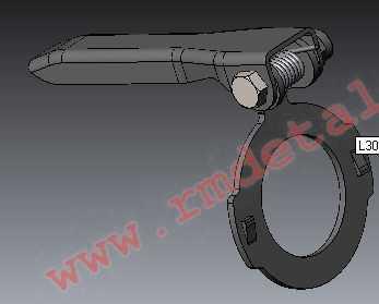 Регулятор храповой L30200590 купить по цене 1078 руб.