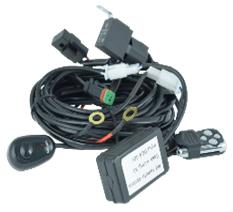 Комплект проводки EL-S с блоком страбоскопа для светодиодной фары купить по цене 1647 руб.