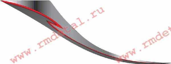 Аппликация левая C40700444 купить по цене 490 руб.