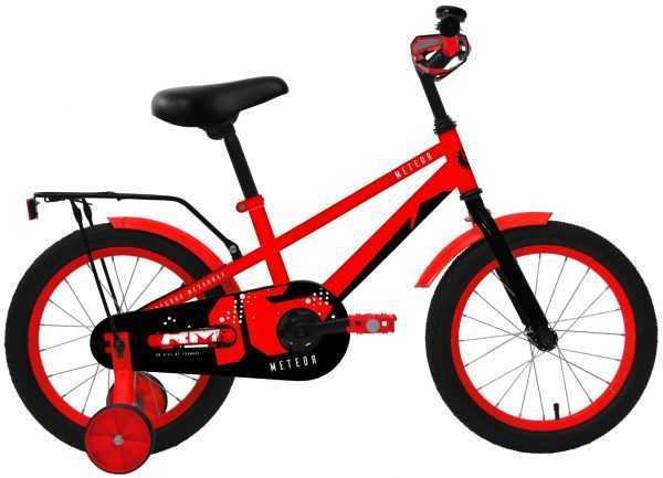 """Велосипед RM METEOR (16"""", 1 ск., красный) купить по цене 5600 руб."""
