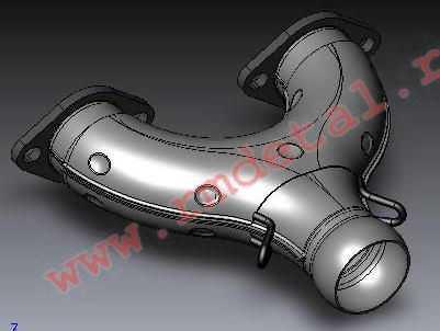 Коллектор выхлопной 340500120 купить по цене 3044 руб.