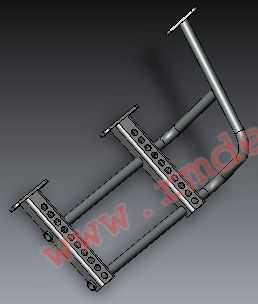 Кронштейн подножки R10100040 купить по цене 3530 руб.