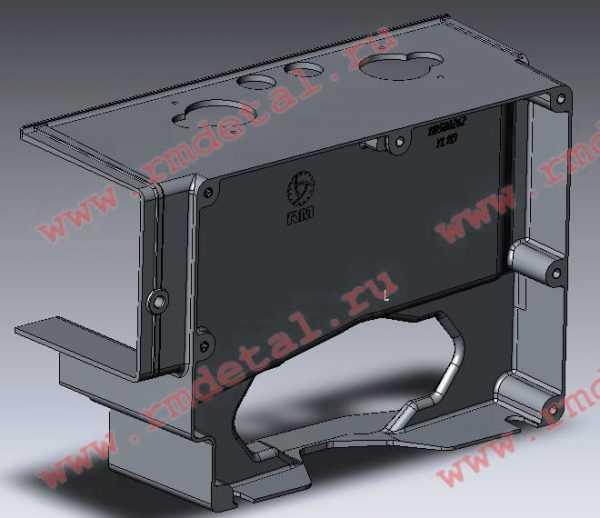 Корпус задний 110500262 купить по цене 8997 руб.