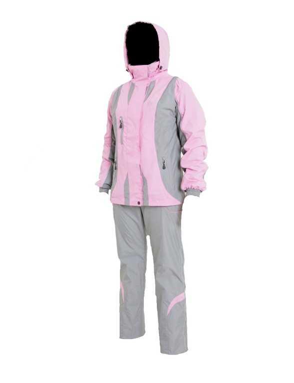 Костюм женский 852М2-12 розово-серый купить по цене 6642 руб.