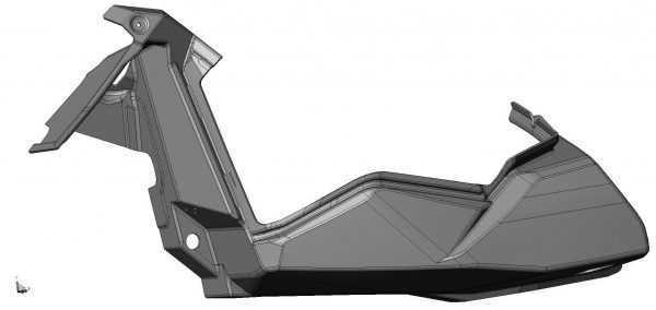 Боковина нижняя левая S10700126 купить по цене 2558 руб.