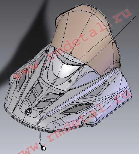 Капот C40700500 купить по цене 32197 руб.