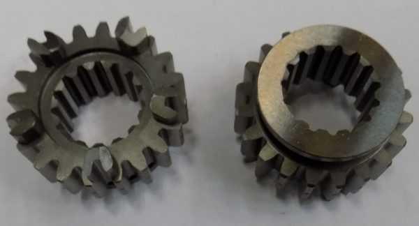 Шестерня нижнего диапазона передач вторичного вала 20 зубьев 21040204701 купить по цене 3017 руб.