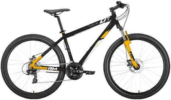 """Велосипед RM SPORTING (27.5"""", 21 ск., рост 17"""", черный/оранжевый) купить по цене 14300 руб."""