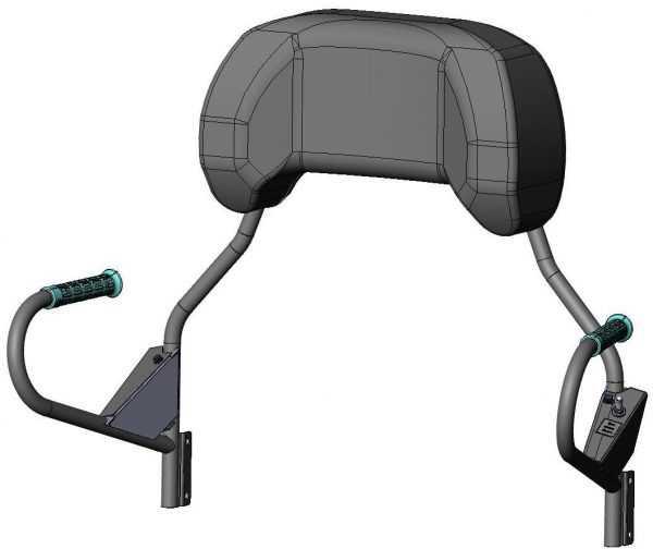 Спинка сиденья C40105300 купить по цене 12948 руб.