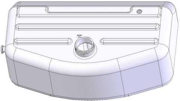 Бак топливный 110800490-01 купить по цене 2153 руб.