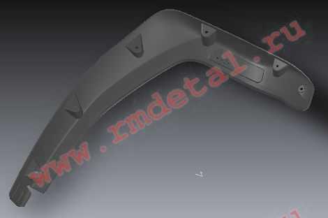 Накладка крыла передняя левая R10700005 купить по цене 708 руб.