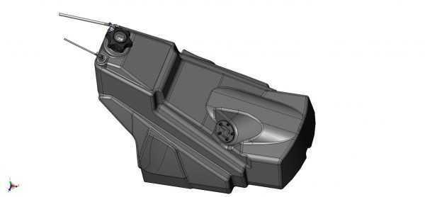 Бак топливный в сборе S10801610 купить по цене 6500 руб.