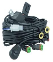 Комплект проводки EL-02 для двух подключений светодиодной фары купить по цене 1120 руб.