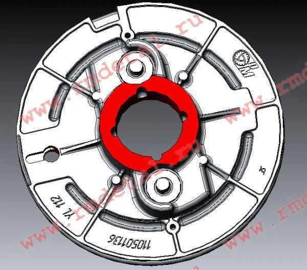 Шкив 110501136 купить по цене 843 руб.