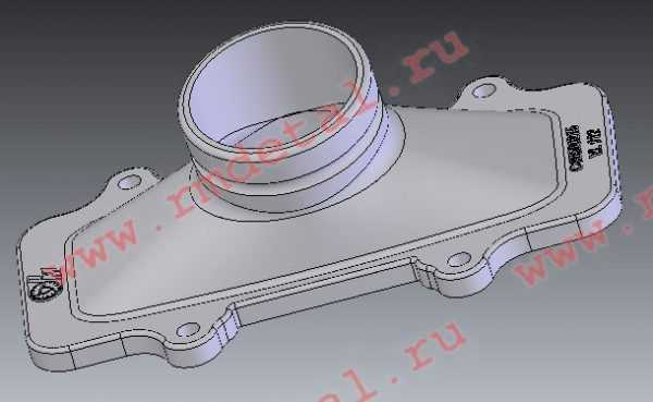 Крышка коллектора впускного C40500215 купить по цене 592 руб.