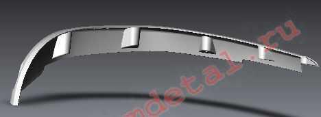 Накладка крыла заднего левая R10700023 купить по цене 633 руб.