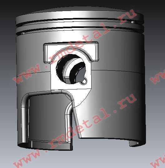Поршень правый 110501550 купить по цене 2535 руб.