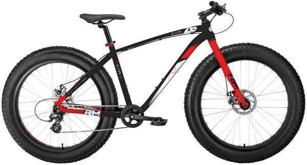 """Велосипед RM BIZON (26"""", 8 ск., рост 18"""", черный/красный) купить по цене 28900 руб."""