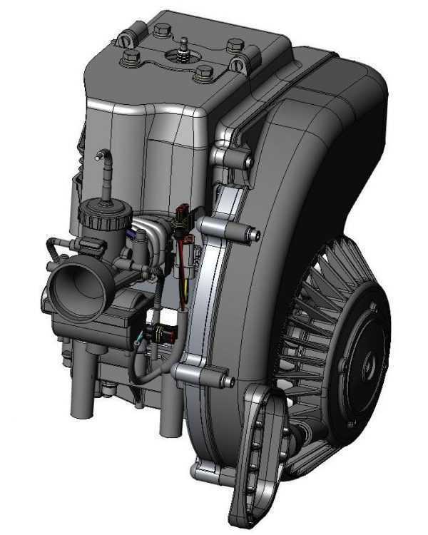 Двигатель РМЗ-250 K90500250ЗЧ купить по цене 72369 руб.