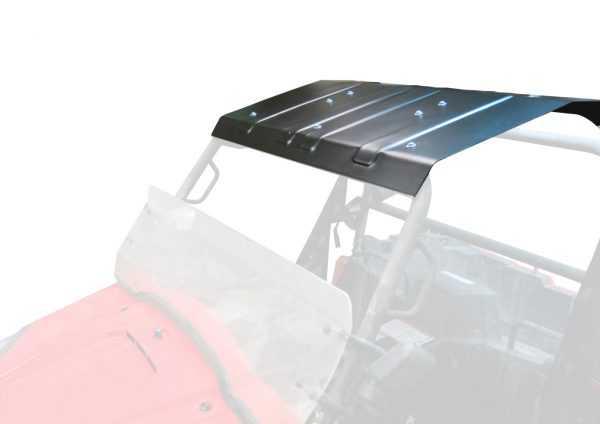 Крыша UTV RM 800 алюминевая, с креплением, черная порошковая краска купить по цене 9900 руб.